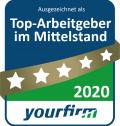 Siegel für top Arbeitgeber 2020